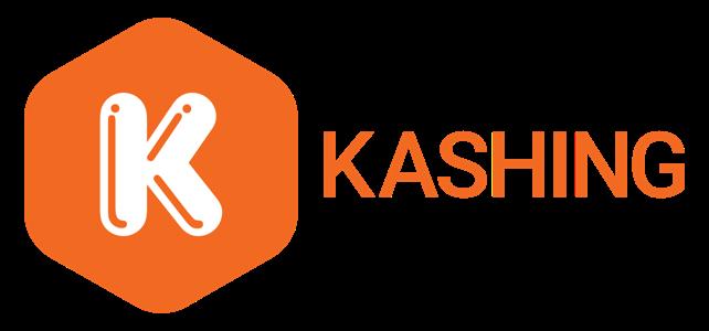 Logo horizontal orange white